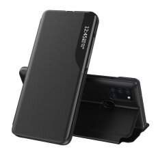 akcija! Samsung Galaxy A21s atverčiamas dėklas Eco Leather View juodas