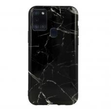 Samsung Galaxy A21s dėklas Marble Silicone silikonas Dizainas 6
