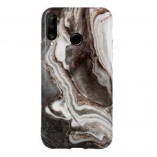 Huawei P30 Lite dėklas Marble Silicone silikonas Dizainas 7