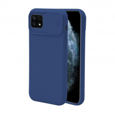 Samsung galaxy a22 5g dėklas CAMERA Protect tamsiai mėlynas