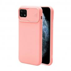 Samsung galaxy a22 5g dėklas CAMERA Protect rožinis