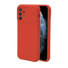 Samsung galaxy A32 4G dėklas CAMERA Protect raudonas