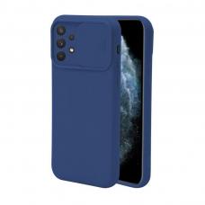 Samsung galaxy A32 4G dėklas CAMERA Protect tamsiai mėlynas