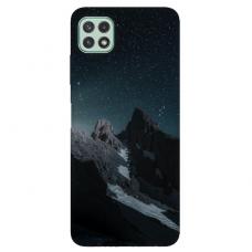 "Samsung Galaxy A22 5G TPU dėklas unikaliu dizainu 1.0 mm ""u-case Airskin Mountains 1 design"""