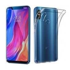 xiaomi redmi mi 8 DĖKLAS HIGH CLEAR 1,0 MM SILIKONAS SKAIDRUS