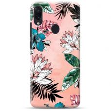 """Samsung Galaxy A40 TPU dėklas unikaliu dizainu 1.0 mm """"u-case Airskin Flowers 1 design"""""""