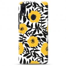 """Samsung Galaxy A40 TPU dėklas unikaliu dizainu 1.0 mm """"u-case Airskin Flowers 2 design"""""""