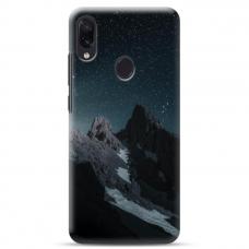 "Samsung Galaxy A40 TPU dėklas unikaliu dizainu 1.0 mm ""u-case Airskin Mountains 1 design"""