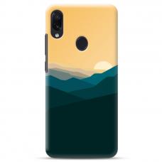 "Samsung Galaxy A40 TPU dėklas unikaliu dizainu 1.0 mm ""u-case Airskin Mountains 2 design"""