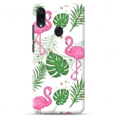 "Samsung Galaxy A40 TPU dėklas unikaliu dizainu 1.0 mm ""u-case airskin Flamingos design"""