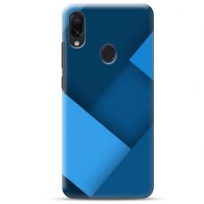 """Samsung Galaxy A40 TPU dėklas unikaliu dizainu 1.0 mm """"u-case Airskin Blue design"""""""