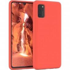 Samsung Galaxy A03s dėklas Mercury Soft Jelly Raudonas