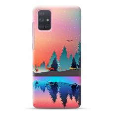 """Samsung Galaxy a41 TPU dėklas unikaliu dizainu 1.0 mm """"u-case Airskin Nature 5 design"""""""