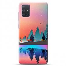 """Samsung Galaxy A32 4G TPU dėklas unikaliu dizainu 1.0 mm """"u-case Airskin Nature 5 design"""""""
