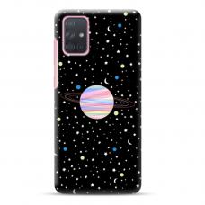 """Samsung Galaxy a41 TPU dėklas unikaliu dizainu 1.0 mm """"u-case Airskin Planet design"""""""