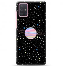 """Samsung Galaxy A32 4G TPU dėklas unikaliu dizainu 1.0 mm """"u-case Airskin Planet design"""""""
