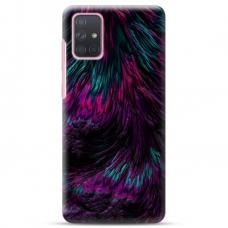"""Samsung Galaxy A32 4G TPU dėklas unikaliu dizainu 1.0 mm """"u-case Airskin Feather design"""""""