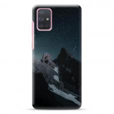 "Samsung Galaxy a41 TPU dėklas unikaliu dizainu 1.0 mm ""u-case Airskin Mountains 1 design"""