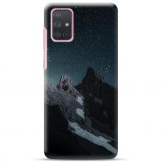 "Samsung Galaxy A32 4G TPU dėklas unikaliu dizainu 1.0 mm ""u-case Airskin Mountains 1 design"""