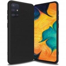 Samsung Galaxy A51 4G Dėklas Soft Case TPU gel protective case  juodas