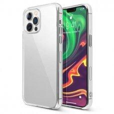 iphone 13 pro max dėklas 3MK Clear TPU 1,2 mm permatomas