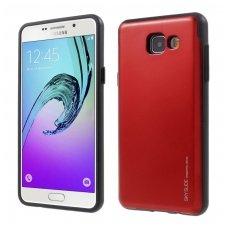 Samsung galaxy A5 2016 dėklas MERCURY SKY SLIDE RAUDONAS PLASTIKAS SU VIETA KORTELĖMS