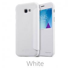 Samsung Galaxy A5 2017 atverčiamas dėklas Nillkin Sparkle PU ODA baltas