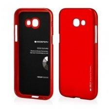 Samsung galaxy A5 2017 dėklas MERCURY JELLY SOFT silikoninis raudonas