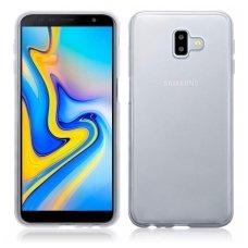 samsung galaxy j6 plus 2018 dėklas Silikoninis Ultra Slim 0,3mm Permatomas