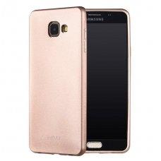Samsung galaxy A5 2017 dėklas X-LEVEL GUARDIAN silikonas auksinis