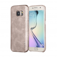 Samsung galaxy A5 2017 dėklas X-LEVEL VINTAGE eko oda smėlinis