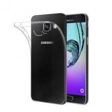 Samsung galaxy a5 2017 plonas permatomas silikoninis dėklas