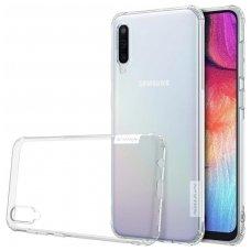Samsung galaxy a50 dėklas Nillkin Nature TPU 0,6mm skaidrus