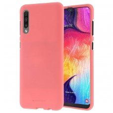 """samsung galaxy a50 dėklas """"Soft Jelly Case"""" silikonas rožinis"""