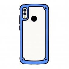 samsung galaxy a50 dėklas Solid Frame pc plastikas mėlynas