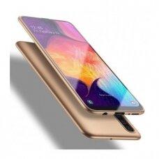 akcija!Samsung galaxy a50 dėklas X-LEVEL GUARDIAN silikonas auksinis