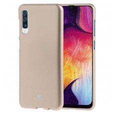Samsung Galaxy a50 MERCURY JELLY CASE Silikoninis auksinis