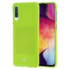 Samsung Galaxy a50 MERCURY JELLY CASE Silikoninis lime