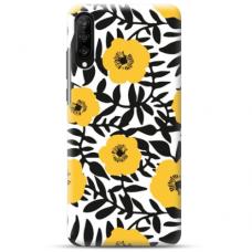"""Samsung Galaxy A50 TPU DĖKLAS UNIKALIU DIZAINU 1.0 MM 1.0 mm """"u-case airskin Flowers 2 design"""""""