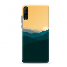 "Samsung Galaxy A50 TPU dėklas unikaliu dizainu 1.0 mm ""u-case Airskin Mountains 2 design"""