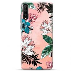 """Samsung Galaxy A50 TPU dėklas unikaliu dizainu 1.0 mm """"u-case Airskin Flowers 1 design"""""""