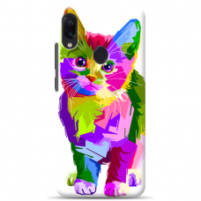 "Samsung Galaxy A40 TPU dėklas unikaliu dizainu 1.0 mm ""u-case Airskin Kitty design"""