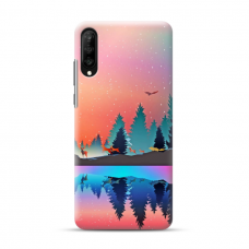 """Samsung Galaxy A50 TPU dėklas unikaliu dizainu 1.0 mm """"u-case Airskin Nature 5 design"""""""