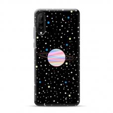 """Samsung Galaxy A50 TPU dėklas unikaliu dizainu 1.0 mm """"u-case Airskin Planet design"""""""