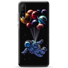 """Samsung Galaxy A50 TPU dėklas unikaliu dizainu 1.0 mm """"u-case Airskin cosmo design"""""""