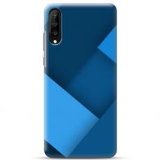"""Samsung Galaxy A50 TPU dėklas unikaliu dizainu 1.0 mm """"u-case Airskin Blue design"""""""