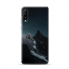 "Samsung Galaxy A50 TPU dėklas unikaliu dizainu 1.0 mm ""u-case Airskin Mountains 1 design"""
