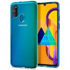 Samsung galaxy m21 dėklas 3MK Clear TPU 1,2mm permatomas