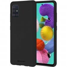Samsung Galaxy A03s dėklas MERCURY JELLY SOFT juodas