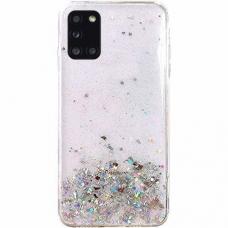 Akcija! Samsung Galaxy A02S dėklas Wozinsky Star Glitter skaidrus